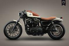 Harley Davidson Sportster 2006 Cafe Racer by La Corona Motorcycles #motorcycles #caferacer #motos | caferacerpasion.com