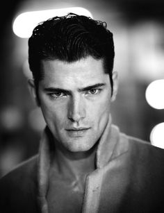 Man Of The World Magazine Summer Sean O'pry by Boo George. Sean O'pry, Male Model Face, Male Models, Blue Sargent, Dark Portrait, Boys Long Hairstyles, Down South, Male Beauty, Photos