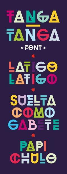 Tanga-Tanga - Marcos Figueiredo #fonts