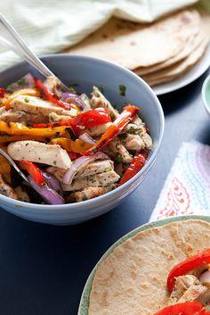 Grilled ChickenFajitas | Annie's Eats