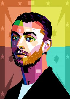 """Beautiful """"Sam Smith"""" metal poster created by baturaja vector. Our Displate metal prints will make your walls awesome. Sam Smith, Pop Art Posters, Poster Prints, Art Prints, Cd Cover Art, Dibujos Cute, Country Music Singers, New Artists, Cool Artwork"""