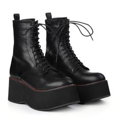 Emo Shoes, Cute Shoes, Me Too Shoes, Heeled Boots, Shoe Boots, Platform Shoes Heels, Aesthetic Shoes, Dream Shoes, Sneaker Boots