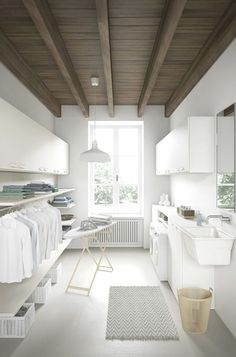 More ideas below: Unfinished Basement laundry room Layout Ideas Before And After Basement laundry room Makeover DIY Basement laundry room Organization Laundry Room Remodel, Basement Laundry, Farmhouse Laundry Room, Laundry Room Organization, Budget Organization, Laundry Organizer, Basement Bathroom, Laundry Rack, Farmhouse Remodel