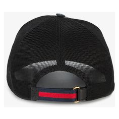 Gucci GG Supreme Angry Cat baseball hat ($320) ❤ liked on Polyvore featuring men's fashion, men's accessories, men's hats, mens caps and hats and gucci mens hat