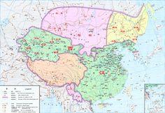 中國西漢時期全圖