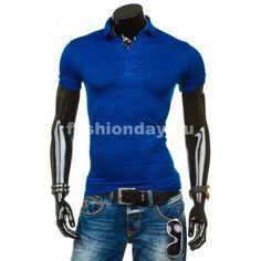 ae324924e1527 Pánske polo tričko čiernej farby s krátkym sivým rukávom ...