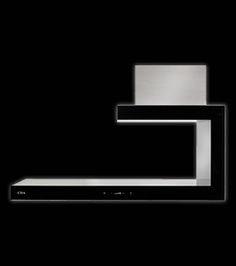 Black+glass+shelf+designer+extractor
