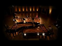 5 Browns + 5 pianos = a beautiful sound
