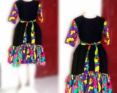 african dress styles Ella African dress / African print dress for women / African dresses / African clothing This gorgeous dress is suitable for every occasion. African Dresses For Kids, African Maxi Dresses, Latest African Fashion Dresses, African Print Fashion, African Attire, Ankara Fashion, Ankara Dress, Africa Fashion, African Prints