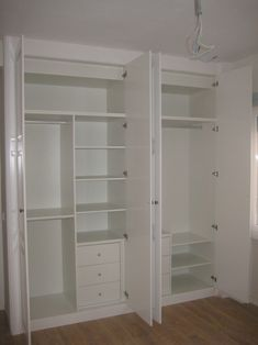 ideas dress room small shelves – Furniture and Door Decoration Bedroom Cupboard Designs, Bedroom Cupboards, Room Shelves, Storage Room, Wardrobe Design Bedroom, Bedroom Wardrobe, Closet Layout, Sliding Closet Doors, Hallway Closet