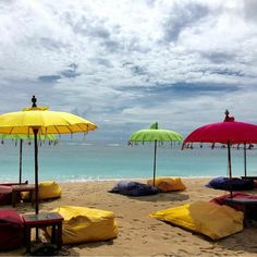A truly beach-front Beach Bar. Photo courtesy: @umartanddesign #beachbar #mengiatbeach #ayodyabali