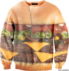 I'm not sure which is better, this jumper, or the actual burger.