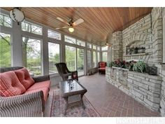 Indoor/outdoor living with this gorgeous sun room | 20435 Radisson Road, Shorewood, MN 55331