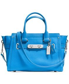 efdf1042a9 Coach Swagger 27 in Pebble Leather Coach Leather Handbags
