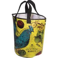 Round Bottom Tote Beach Tote Bags, Lunch Box, Bento Box, Beach Bags