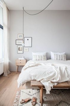 One Room Two Ways Basic Vs Bold Bedroom Wall Colorswood Bedroomwhite