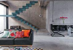 """Бетон в интерьере дома, блог """"Твой дизайнер"""". Варианты использования этого стильного, практичного и экологичного материала в современном интерьере.  Concrete in home interior @ Tvoy Designer blog"""