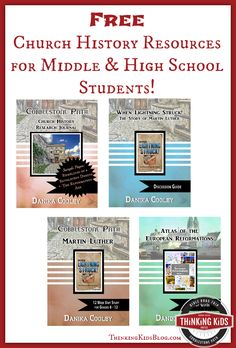 Free Church History Resources for Middle & High School Students!