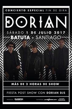 DORIAN saca nuevo video y agenda show en Chile este sábado en La Batuta