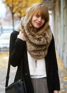 5197d594fee 24 Best Faux Fur Scarves images