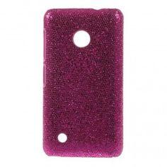 Nokia Lumia 530 hot pink kimallekuoret. Hot Pink, Glitter, Sequins, Glow