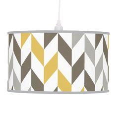 Lámpara deTecho Decorativa formas geométricas