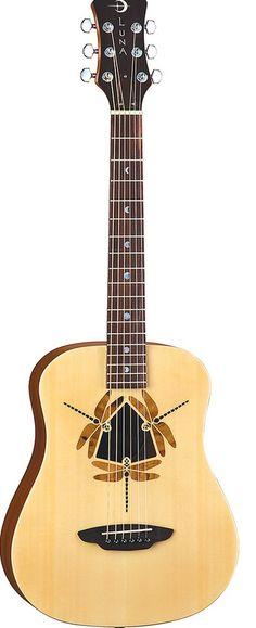 Luna Guitars - Safari Dragonfly ~Love this!