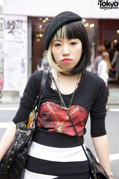 Tokyo Fashion: #hairdye #harajuku