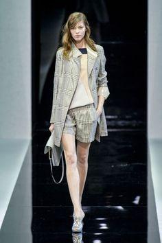 Office boho chic - Emporio Armani, Milan Fashion Week Spring 2013