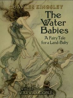 The Water Babies by Charles Kingsley  Embarrassed by his grimy appearance in the presence of an immaculate little girl, ten-year-old Tom—an ill-treated London chimney-sweep—promptly runs away. Diving into a river, he enters a magical underwater world where he meets wee creatures of the deep, and learns about goodness, fairness, and 'right and wrong.' Young readers will find themselves anticipating with pleasure the frequent appearances of such enchanting characters as...