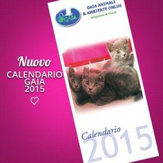 Il nuovo calendario Gaia 2015 è pronto! In vendita i nostri banchetti davanti a Coin a Verona oppure prenotabile via e-mail.