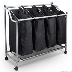 Kosz wózek na pranie bieliznę sortownik składany