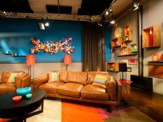 Designer Fire 'Oslo' bio ethanol fireplace used on the set of The Living Room (season 1)