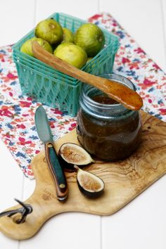 Fig Preserves via @Paula - bell'alimento