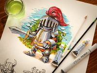 2d character art