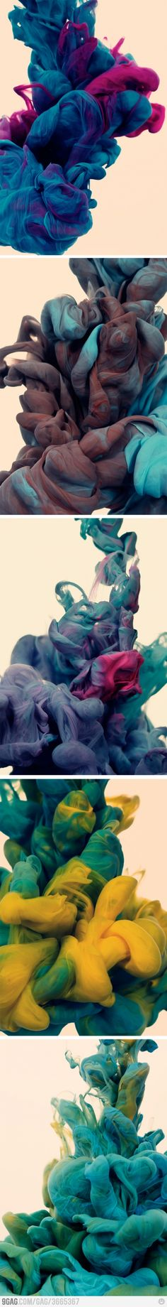 Ink Dropped Into Water On A Black Background By Alberto Seveso - New incredible underwater ink photographs alberto seveso