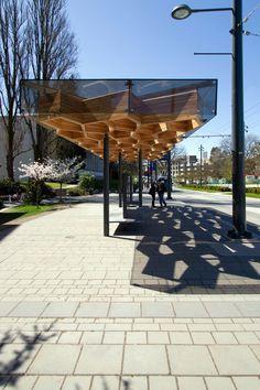 Galeria de Abrigos de Trânsito na University Boulevard / PUBLIC Architecture…