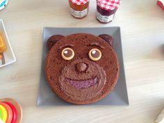 Recette: un gâteau Petit Ours Brun à croquer http://www.woodybeauty.com/2015/02/recette-un-gateau-petit-ours-brun.html