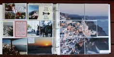 Project Life-inspired travel album by Jenni Hufford.
