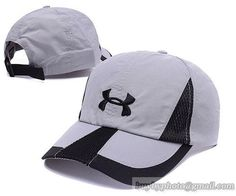 6562fedd41d Men s   Women s Unisex Under Armour UA Logo Sideline   Brim Mesh MeshShadow  Baseball Adjustable Hat - Grey   Black