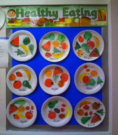 Healthy Eating classroom display photo - Photo gallery - SparkleBox …