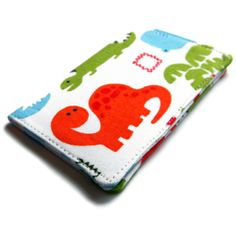 Card Wallet  Dinosaur  Girls night out credit by CrashCourseCraft, $7.00