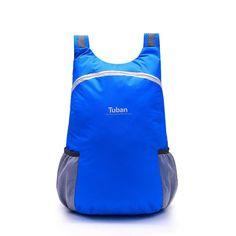Women Men Folding Bag Portable Travel Backpack Lightweight Skin Bag Online - NewChic