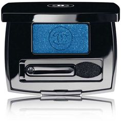 CHANEL OMBRE ESSENTIELLE - BLUE RHYTHM DE CHANEL COLLECTIONSoft Touch... ($30) ❤ liked on Polyvore featuring beauty products, makeup, eye makeup, eyeshadow, beauty, cosmetics, eyes, blending brush, eyeshadow brush et blender brush