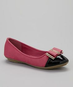 Take a look at this Fuchsia Ruby Flat by COCO Jumbo on #zulily today!
