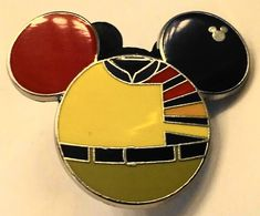 Disney Ellen's Energy Cast Costume Mickey Icon Hidden Mickey Completer PWP Pin New. This trading pin makes a great collectible gift or addition to your Disneyana collection. Disney Pins Sets, Disney Trading Pins, Disney Ears, Disney Mickey, Hidden Mickey, Mickey Head, Disney Theme, Great Gifts, It Cast