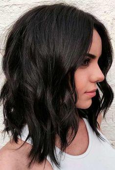 63 Medium Layered Hair Cuts For a Trendy Look Layered Haircuts & Hairstyles Bob Hairstyles, Straight Hairstyles, Braided Hairstyles, Layered Hairstyles, Updos Hairstyle, Wedding Hairstyles, Black Hairstyles, Trendy Hairstyles, Beehive Hairstyle