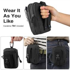 $20 CARRY IT AS YOU LIKE !   Tactical belt pouch is best for carrying your EDC gear. You can carry a smartphone, pens, lighter, flashlight, and other items that you prefer — a tactical belt pouch is made from nylon with heavy-duty belt loops. You can attach the pouch to a backpack or vest.  #tactical #pouch #tacticalpouch #EDC