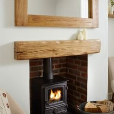 Solid oak beam mantel shelf kiln dried oak beams framing oakfield horsham rustic air dried oak mantel fireplace mantels oak beams oak beams 1 for fireplaceSolid Oak Beam Rustic Character Mantel Shelf. Rustic Mantle, Barn Wood, Wood, Wood Fireplace Mantel, Rustic Fireplace Mantels, Fireplace Mantels, Wood Burner Fireplace, Barn Beams, Wood Fireplace