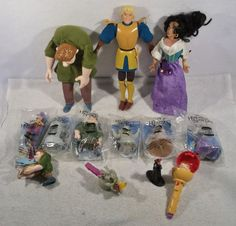 Large Lot of Disney Hunchback of Notre Dame quasimodo dali clopin toys figures C #Disney